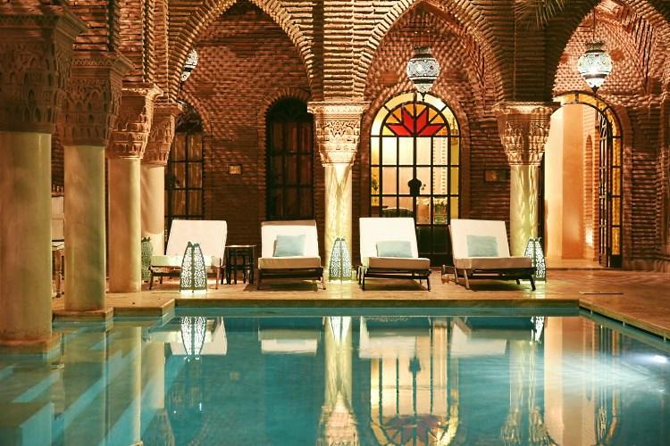 La Sultana Pool by Night