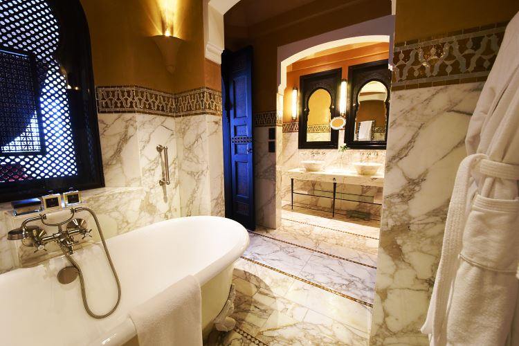 La Mamounia bathroom
