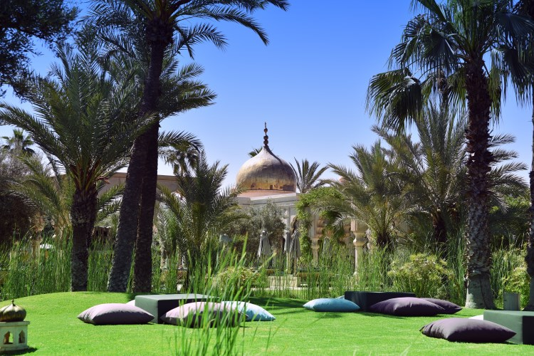 Palais Namaskar garden