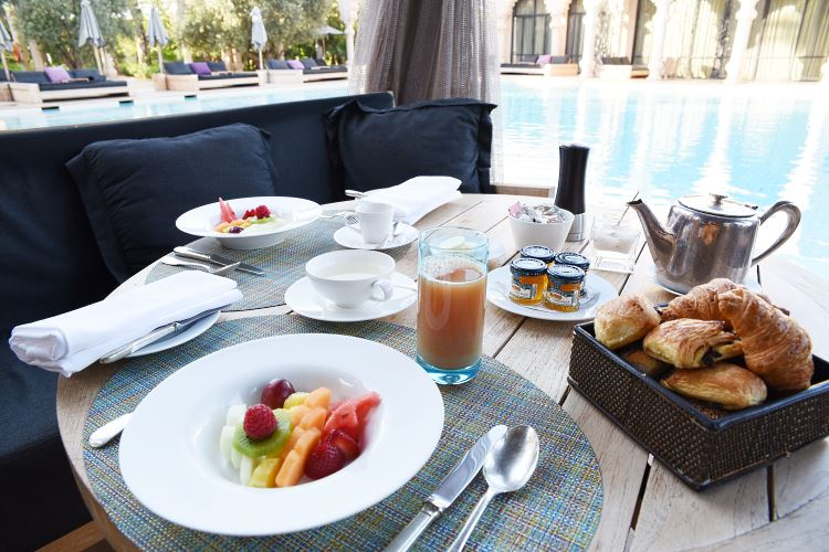 Palais Namaskar Marrakesh breakfast