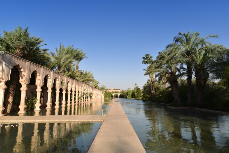 Palais Namaskar Marrakesh pools