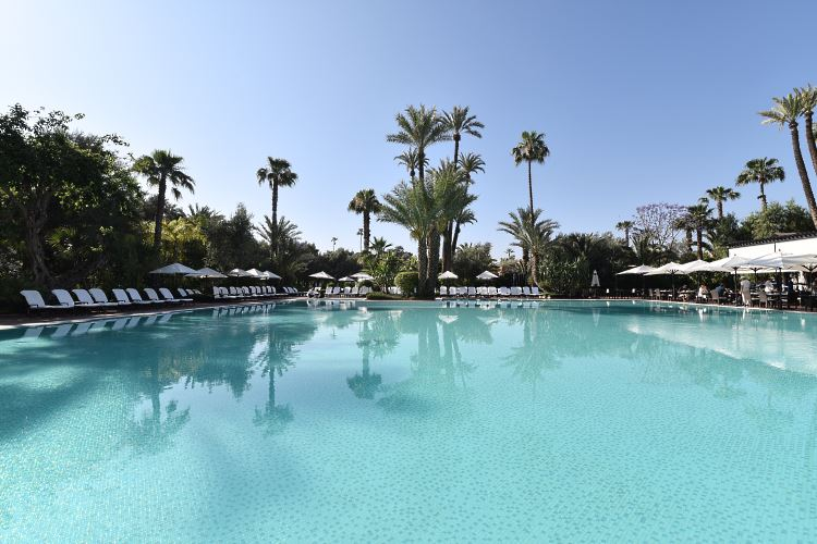 Swimming pool La Mamounia Marrakesh