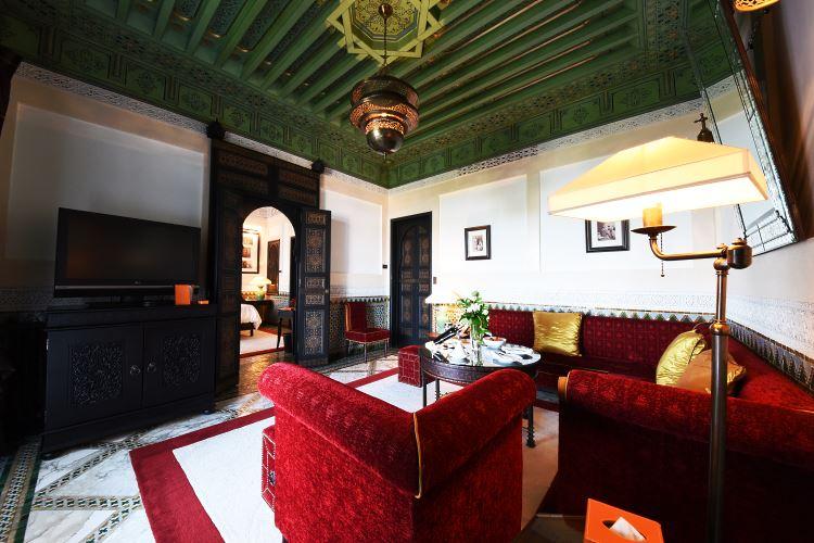 La Mamounia Marrakesh living room