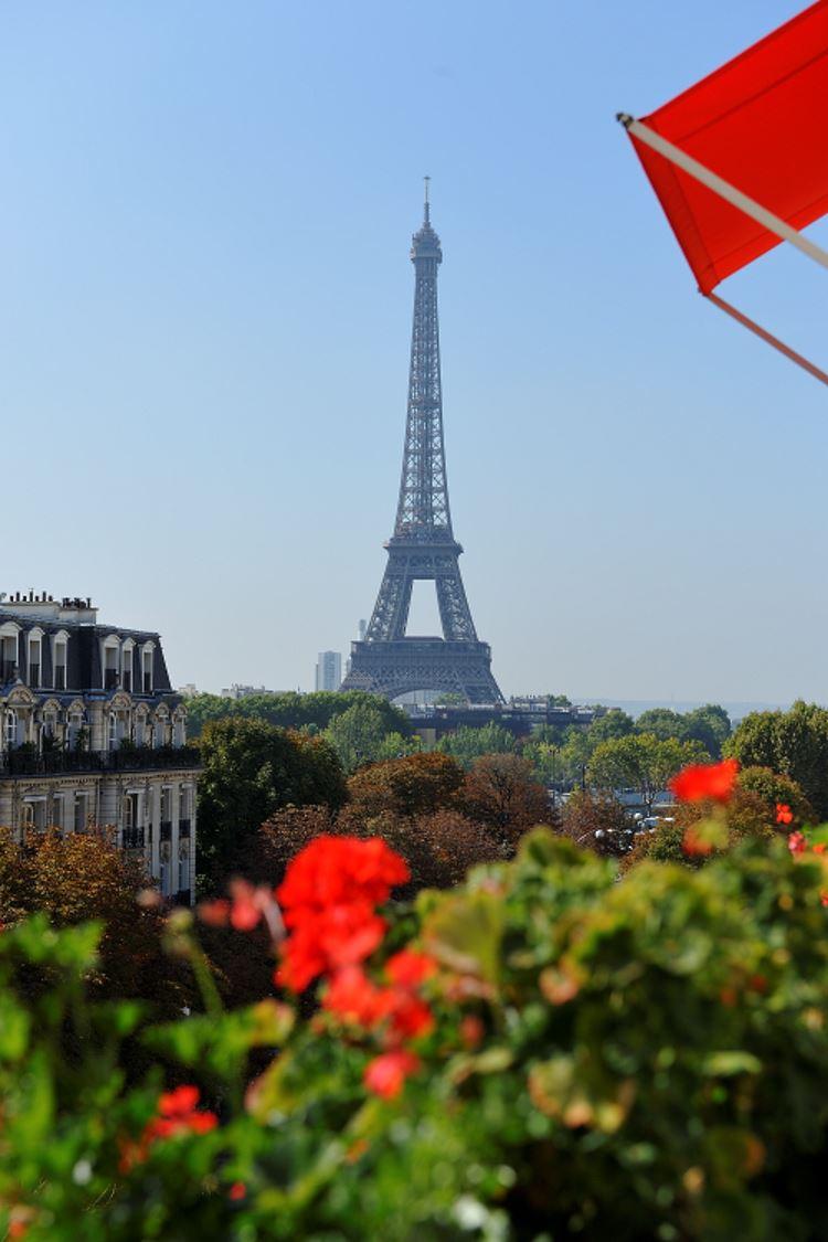 Plaza Athénée Paris - Vue Tour Eiffel