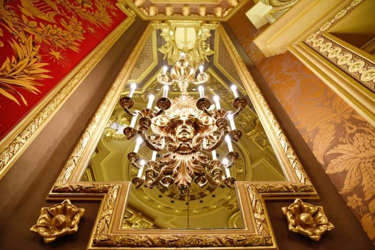 Casino Monaco chandelier