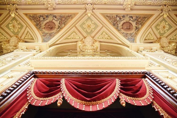 Casino Monaco plafond salon