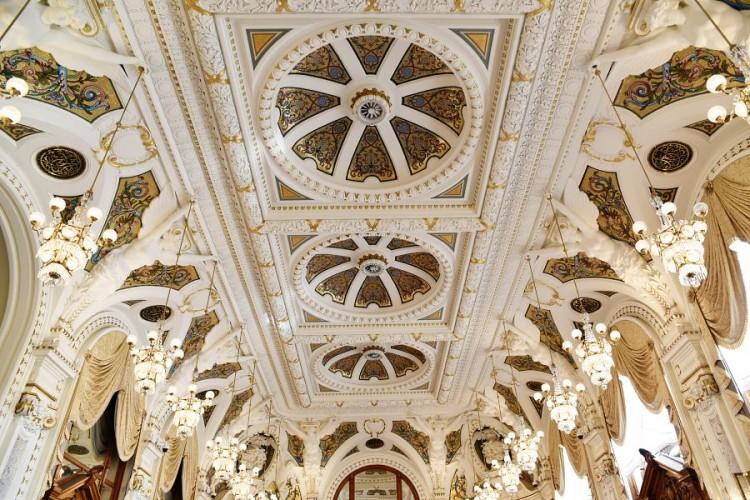 Casino Monte Carlo Salle Blanche plafond