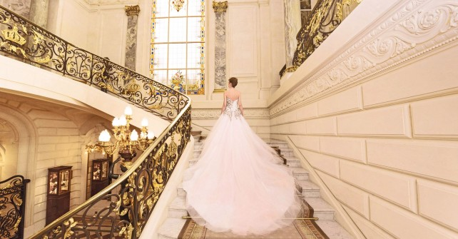 Dream wedding at Shangri-La Hotel Paris with Oksana Mukha