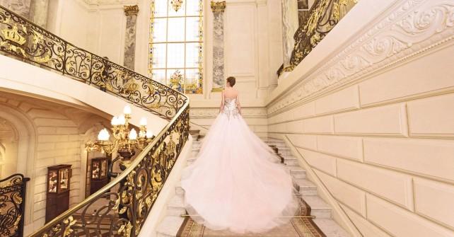 Mariage de rêve au Shangri-La Hotel Paris en Oksana Mukha
