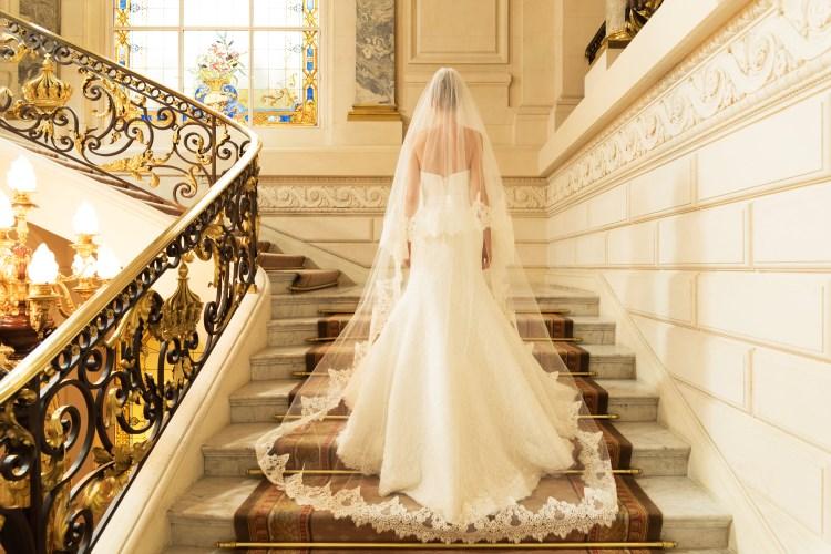 Oksana Mukha wedding dress