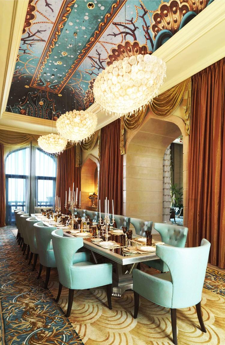 Atlantis The Palm Royal Bridge Suite dining room