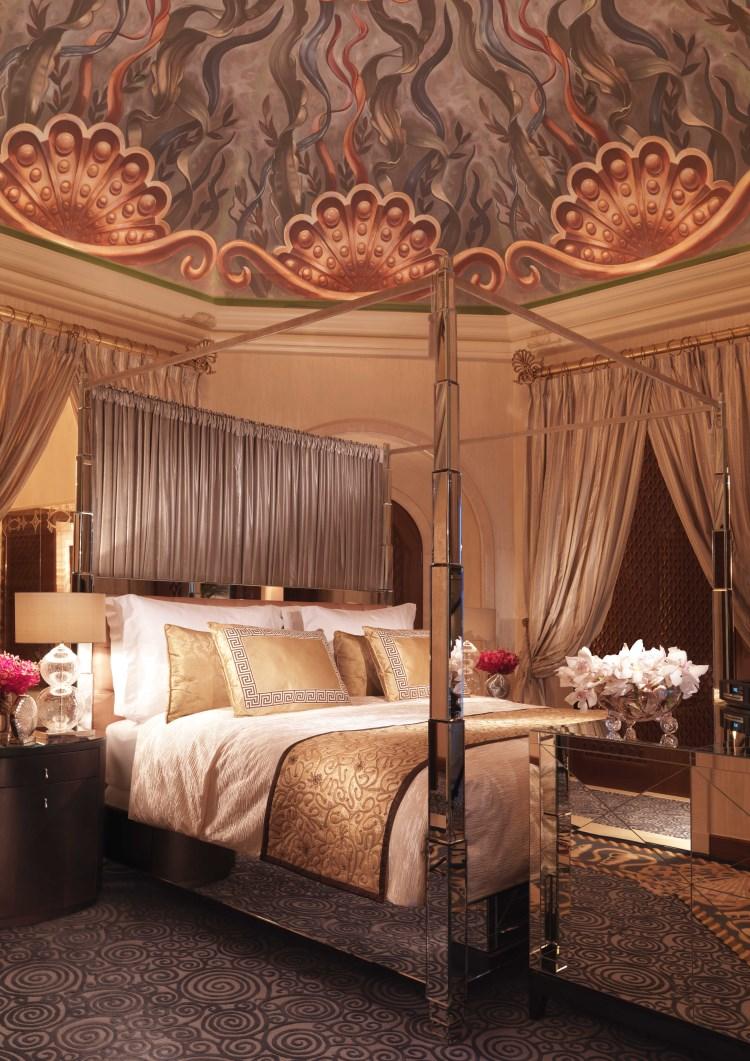 Atlantis The Palm Royal Bridge Suite Master Bedroom