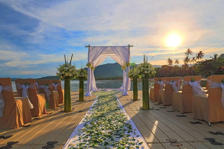 Le Méridien Koh Samui - Mariage sur la plage