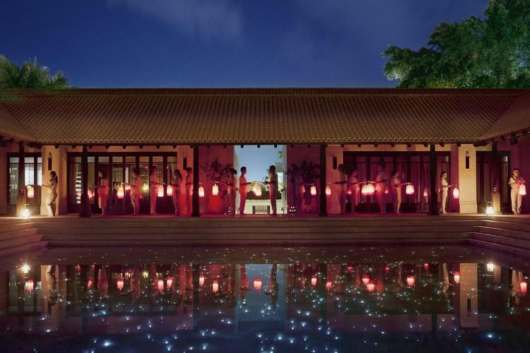 Le Méridien Koh Samui - Célébration avec les lanternes célestes