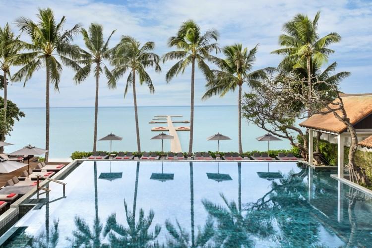 Le Méridien Koh Samui - La piscine principale