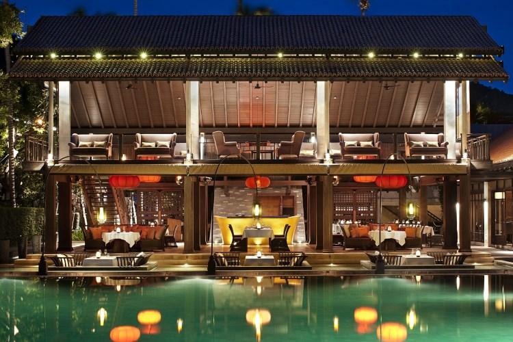 Le Méridien Koh Samui - Le restaurant de nuit