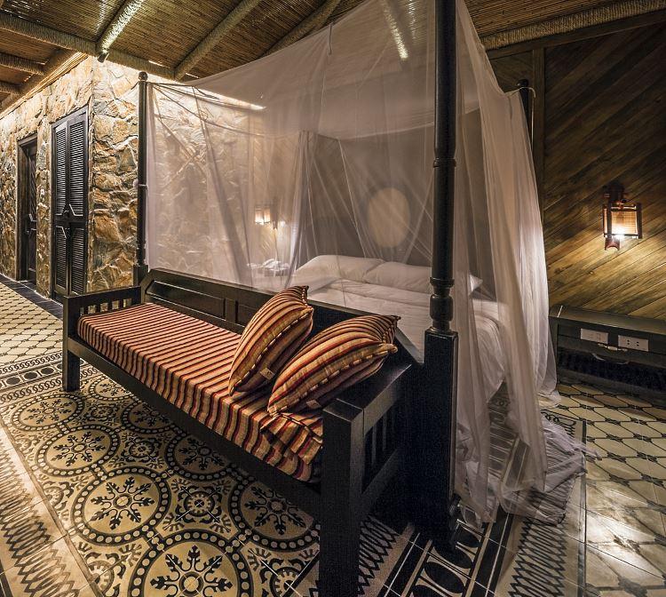 Chambre de Suite Mai Chau Ecolodge Vietnam