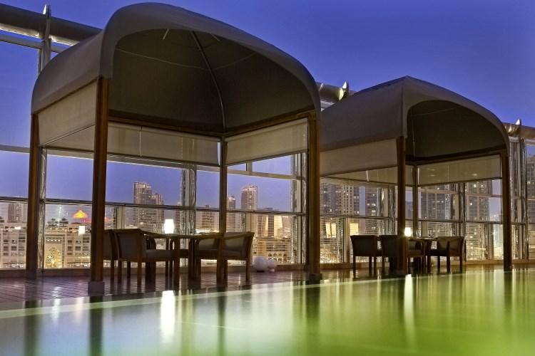 Armani Hotel Dubaï - Terrasse du Restaurant Amal