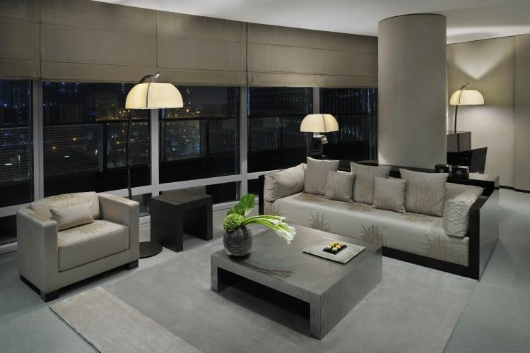 Armani Hotel Dubaï - Salon de la Suite Ambassador