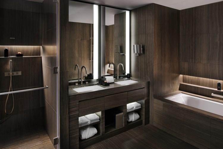 Armani Hotel Dubaï - Salle de bains de la Chambre Classique