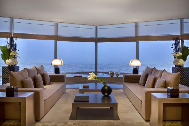Armani Hotel Dubaï - Salon de la Suite Dubaï