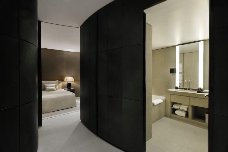 Armani Hotel Dubaï - Couloir de la Suite de la Fontaine