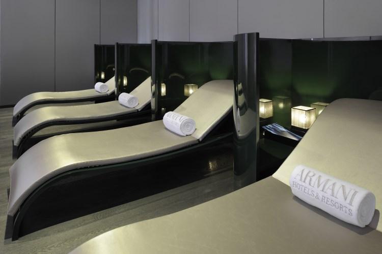 Armani Hotel Dubaï - Espace de relaxation du spa
