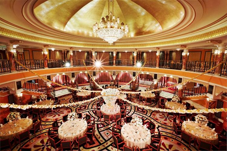Burj Al Arab - Mariage dans la salle de bals Al Falak