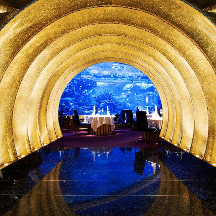 Burj Al Arab - Restaurant Al Mahara