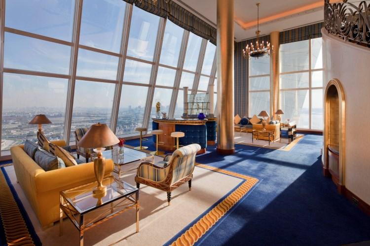 Burj Al Arab - Niveau inférieur de la Club Suite