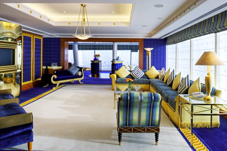 Burj Al Arab - Salon de la Diplomatic Suite
