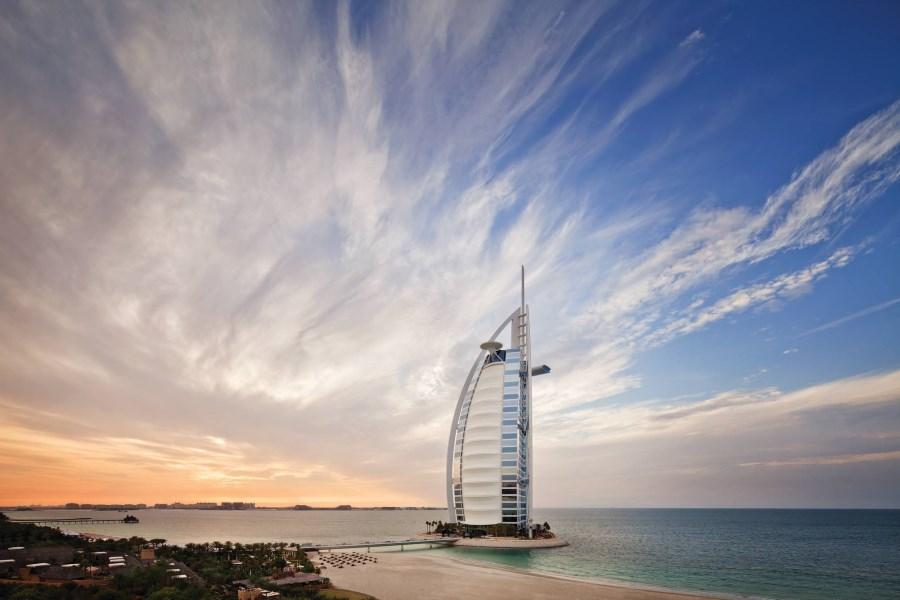 Le Burj Al Arab à Dubaï
