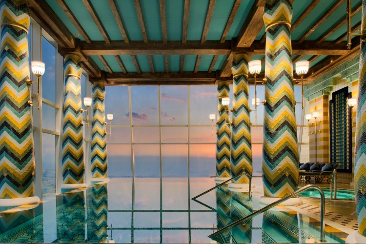 Burj Al Arab - Piscine du spa