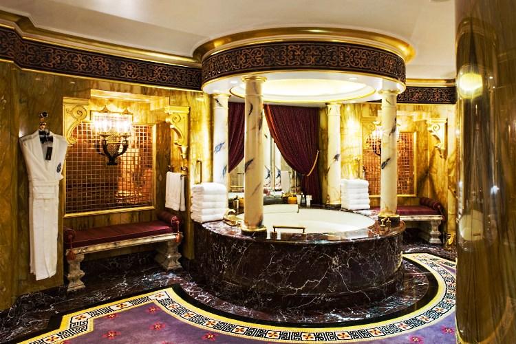 Burj Al Arab - Salle de bains de la Royal Suite