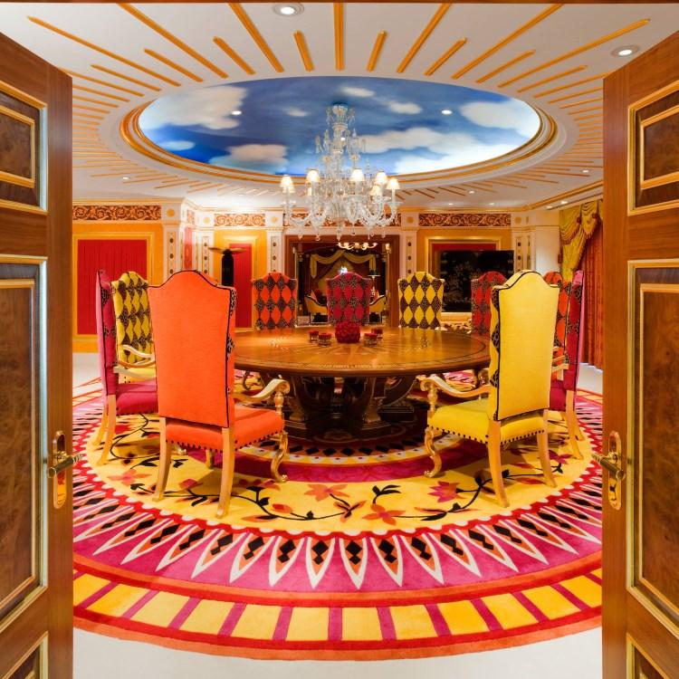Burj Al Arab - Salle à manger de la Royal Suite