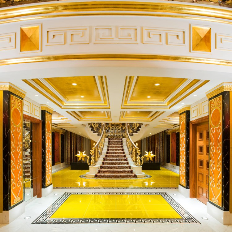 Burj Al Arab - Entrée de la Royal Suite