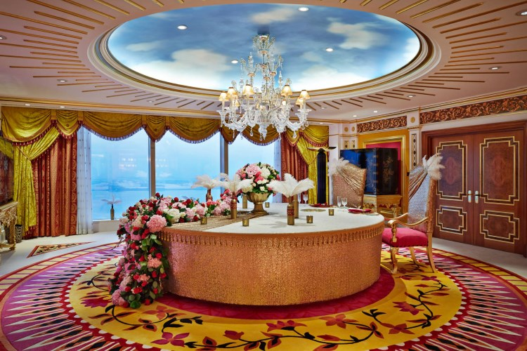 Burj Al Arab - La Royal Suite