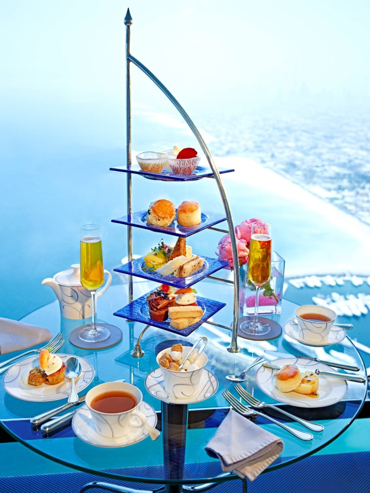 Le High Tea du Burj Al Arab