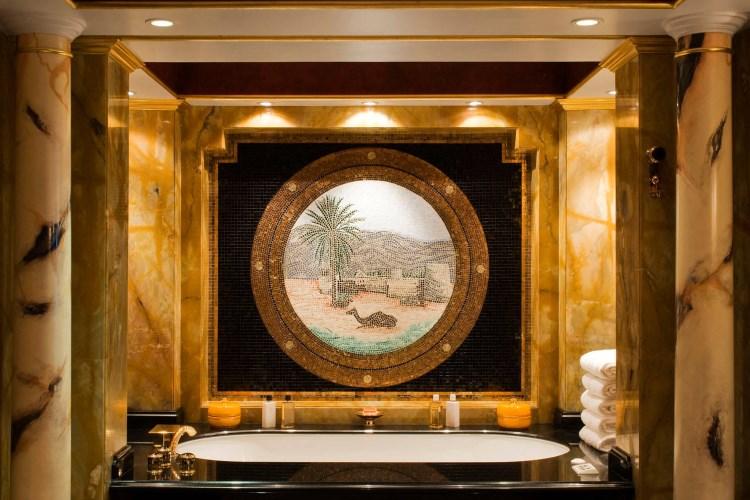 Burj Al Arab - Salle de bains