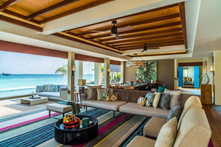 Four Seasons Landaa Giraavaru - Landaa Estate Living room