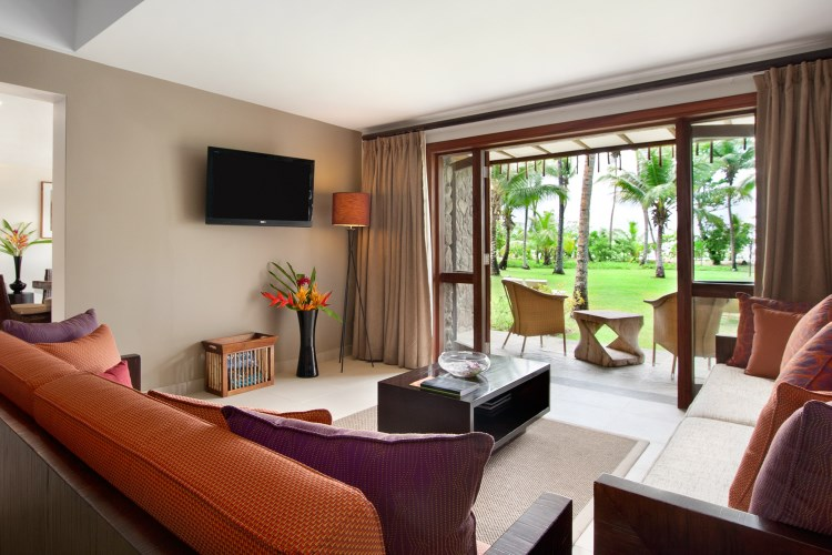 Kempinski Seychelles - Beachside Suite Living Area