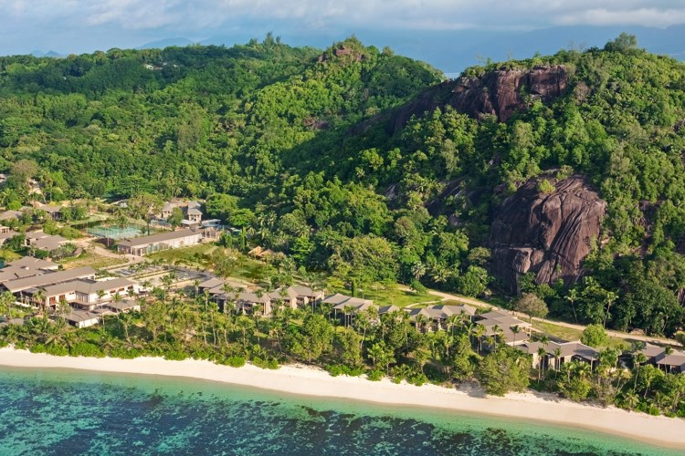 Kempinski Seychelles - View From Ocean