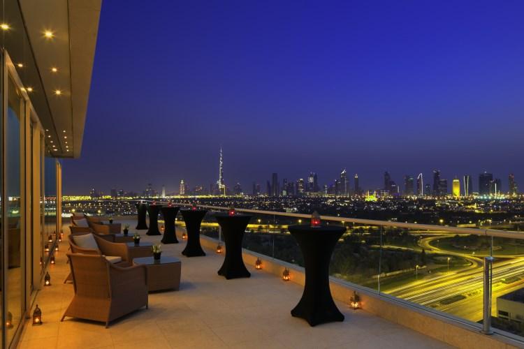 Raffles Dubaï - Terrasse de l'étage Dubaï