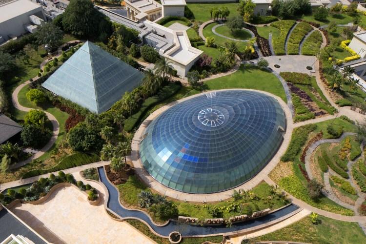Raffles Dubaï - Les jardins