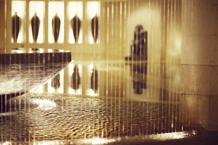 Raffles Dubaï - Détails dans le lobby