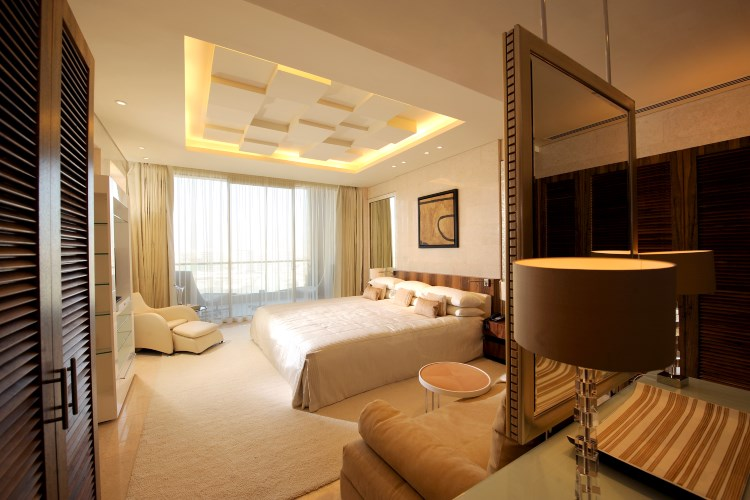 Raffles Dubai - Presidential Suite Air Bedroom