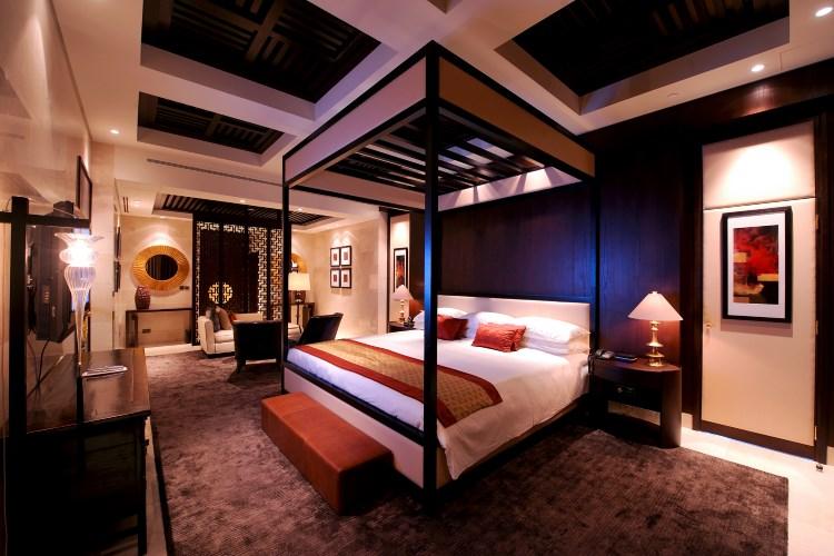 Raffles Dubai - Royal Suite Asian Bedroom