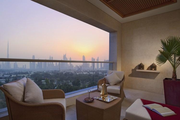 Raffles Dubai - Signature Room Terrace