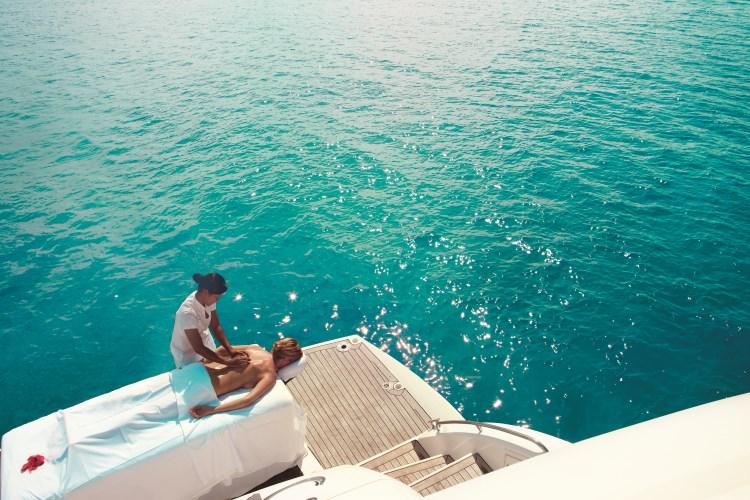 Raffles Praslin - Boat Massage