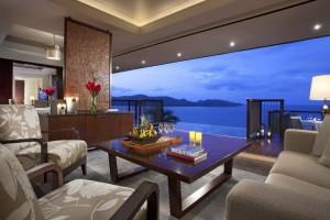Royal Suite Villa Living Room